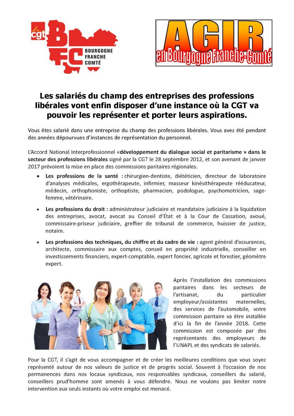 Les Salaries Du Champ Des Entreprises Des Professions Liberales Vont